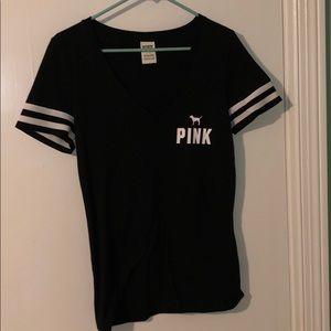 Black V-neck from PINK